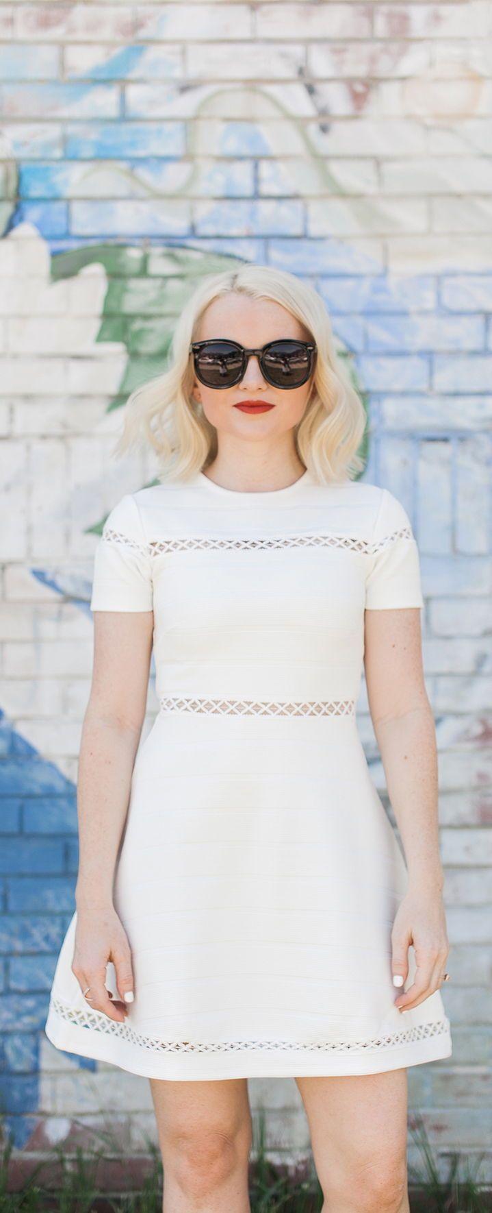 1f0cd24f89 The Best Little White Dress For Summer - Poor Little It Girl   poorlittleitgirl  LWD  PetiteStyle