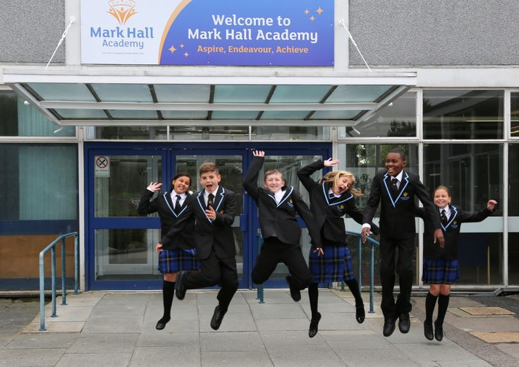 Mark Hall Academy pupils
