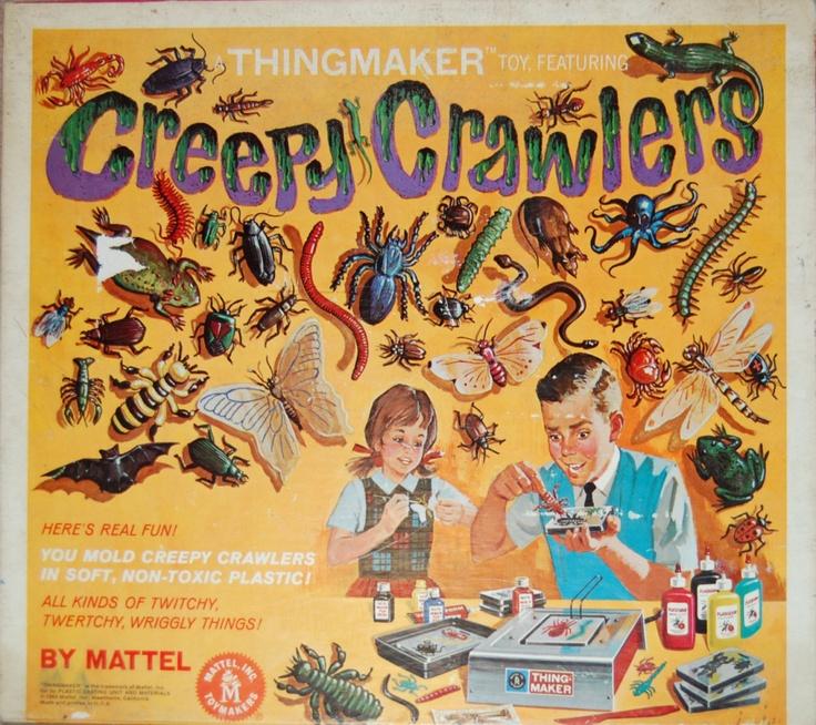 Creepy Crawler Thing Maker: Remember, Things Maker, Childhood Memories, 1960S, Comic Books, Creepy Crawler, Bugs Maker, Vintage Toys, 1960 S