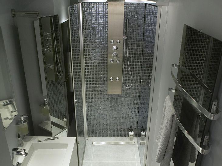 Douche l 39 italienne styles et tendances leroy merlin salle de bain - Petite salle de bain leroy merlin ...
