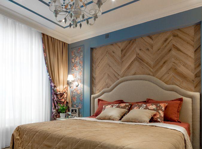 """Фазенда """"Спальня в зефире"""" - укладка французская елка на стену! #паркет #французскаяелка #дуб  Заказать образцы и каталог можно по ссылке:  http://moscowdesignfloors.ru/  Скачать 3D текстуры состаренной древесины можно по ссылке: http://3d.moscowdesignfloors.ru"""