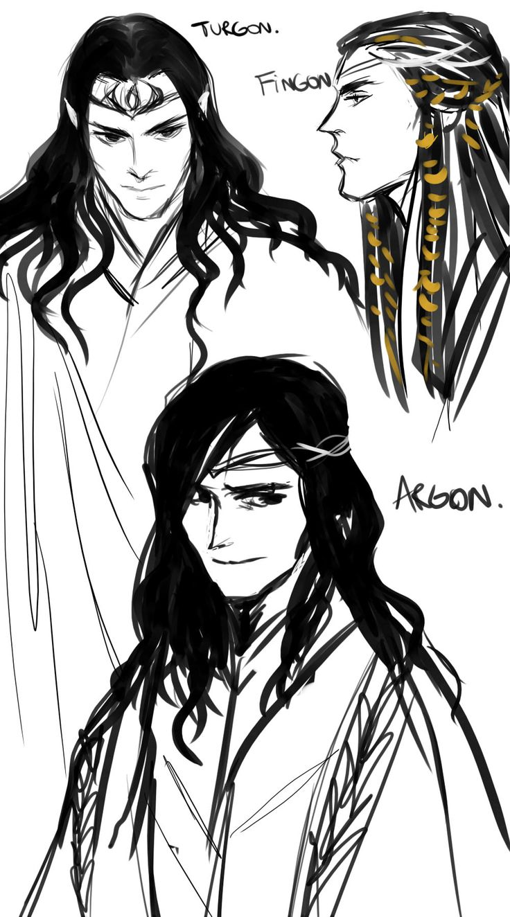 Turgon, Fingon and Argon Credit to Elrond's Salad!