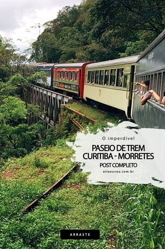 O Imperdível Passeio de trem Curitiba – Morretes 14/nov/2017