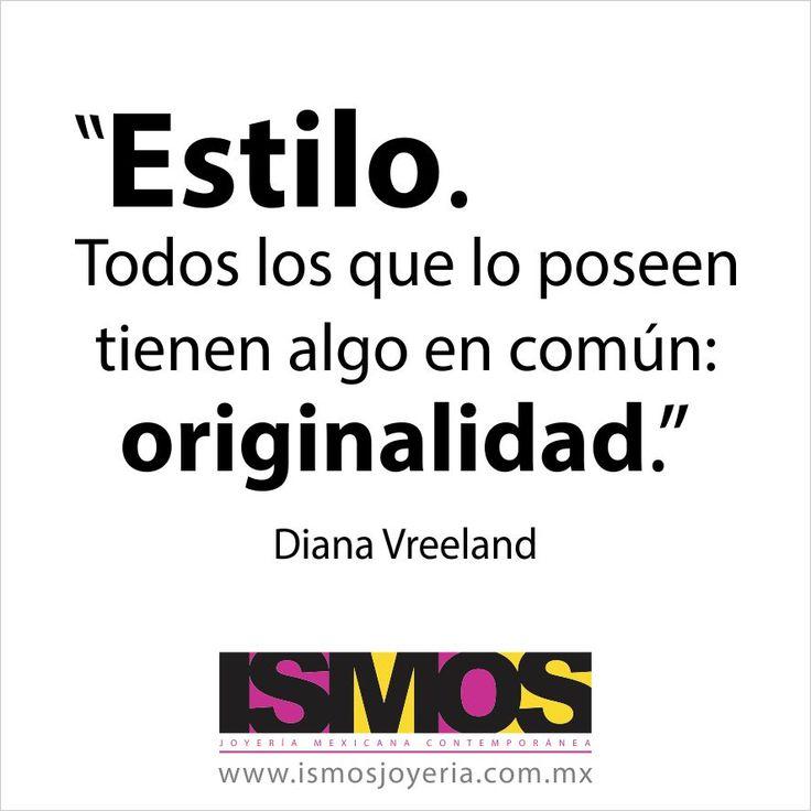 Diana Vreeland hablando sobre estilo // ISMOS Joyería