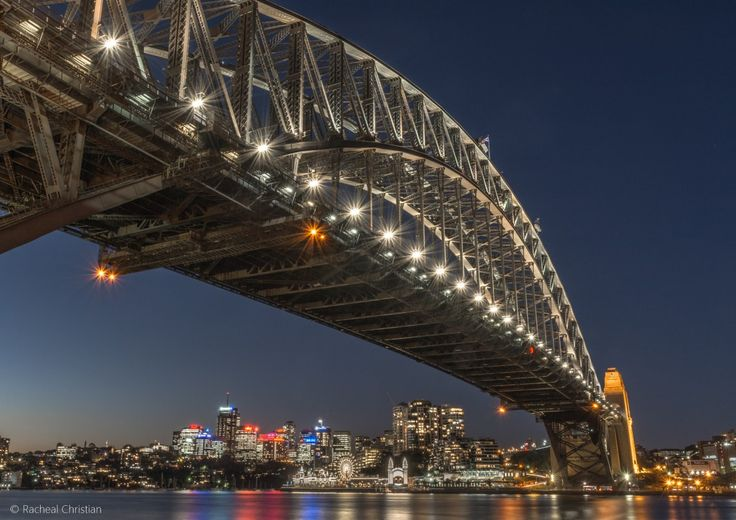 Photographing Sydney | A Night At The Rocks by Racheal Christian - Sydney Harbour Bridge #Australia #Photography