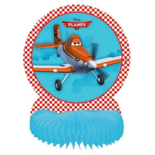 Disney Uçaklar Planes Partisi Masa Orta Süsü