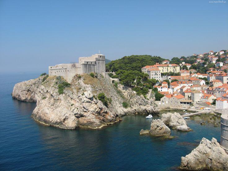 Chorwacja, Miasto, Dubrownik, Wybrzeże
