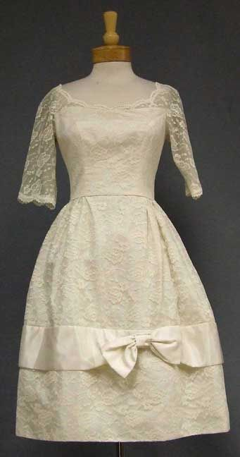Tea Length Dress 1960