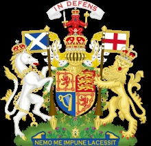 """The motto of Scotland is """"Nemo me impune lacessit"""", or: """"No one provokes me with impunity"""". It is used by the Order of the Thistle and on later versions of the Royal coat of arms"""