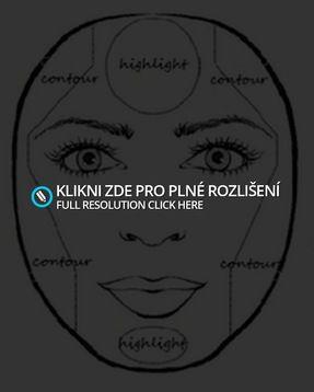 Rady + Video - Konturování a stínování obličeje | ♥ Scene & other styles ♥