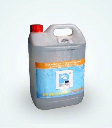 Bactericida Antifúngico - Produto desinfetante para balneários, casas de banho, chuveiros, solários e zonas de praias.