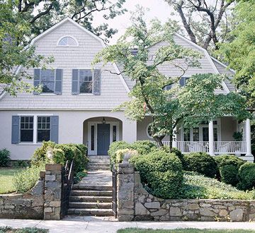92 best images about colonial houses on pinterest house for Colonial home additions