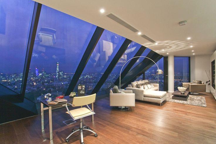 Luxury Penthouse in London 4 Luxury Penthouse Overlooking Londons Majestic Skyline