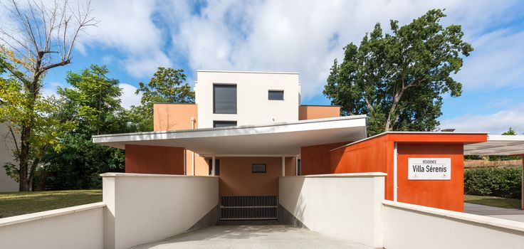 Villa Serenis - Bordeaux (33)   © Ecliptique / Laurent Thion