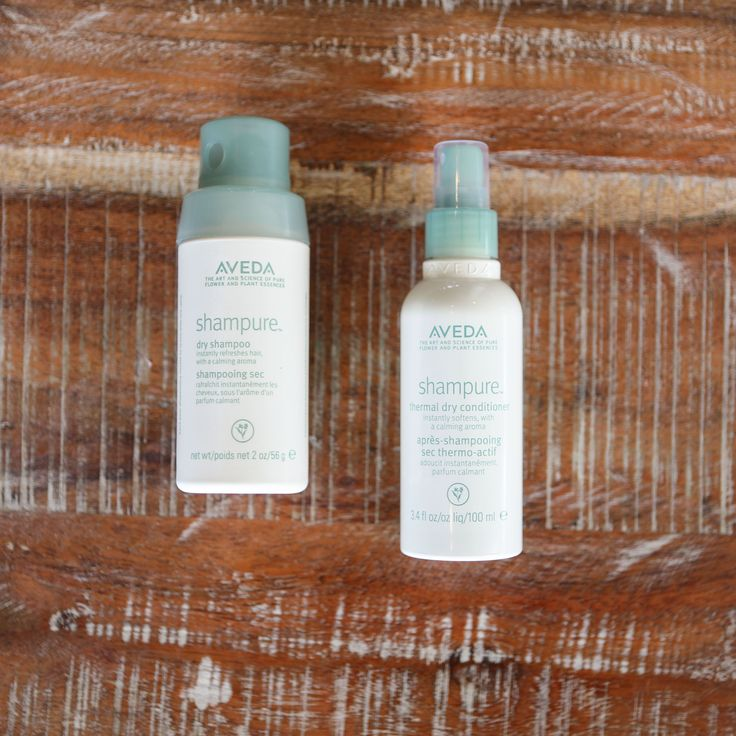 Refresh your roots between shampoos and give your midlengths and ends a burst of softness with Shampure Dry Shampoo and Thermal Dry Conditioner —they're a perfect pair as far as we're concerned!
