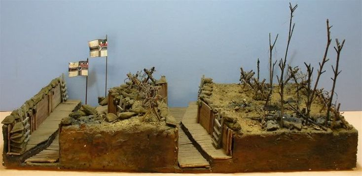 Really want to get hands on with History Club and make things - a WW1 trench for example