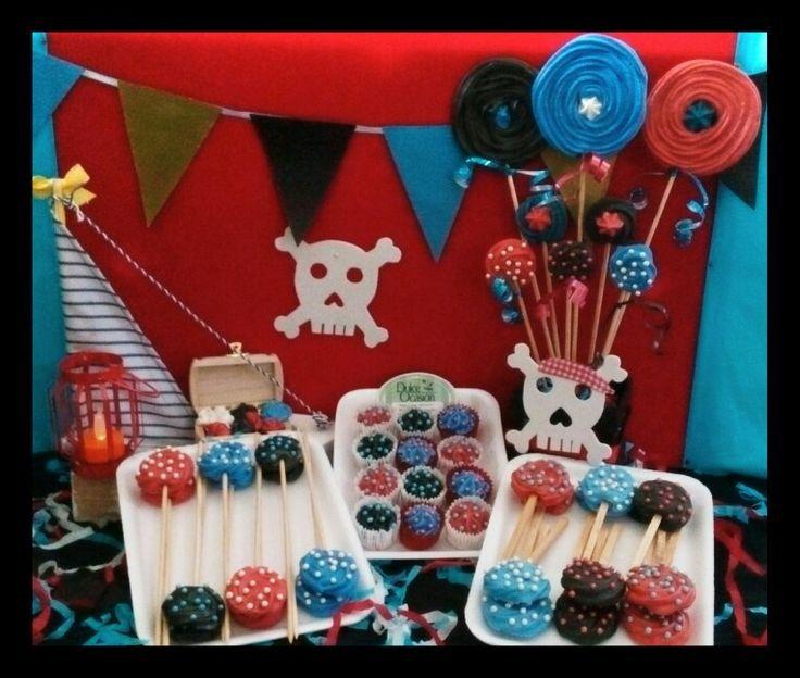Piratas!! Dulce ocasión te presenta su variedad de dulces de mambito con el tema de piratas, hechos de manera artesanal y harán q tu mesa de dulces luzca muy original info al 9992 183917