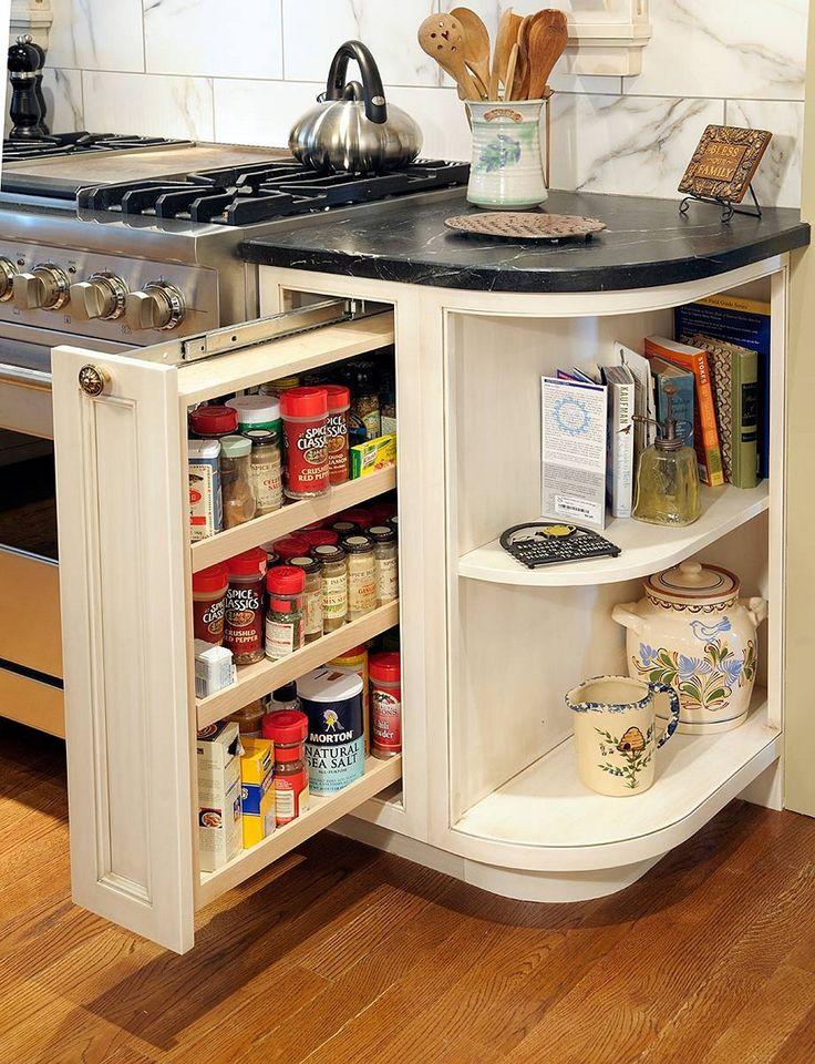 Perfect Spice Rack Ideas Cabinet. Kitchen ...