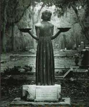 Bonaventure Cemetery Savannah Ga Bird Girl Statue Made Famous By The Movie Midnight In The