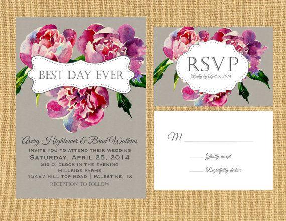 108 best Wedding Invitation Card  Elegant, Floral \ English Style - best of invitation english