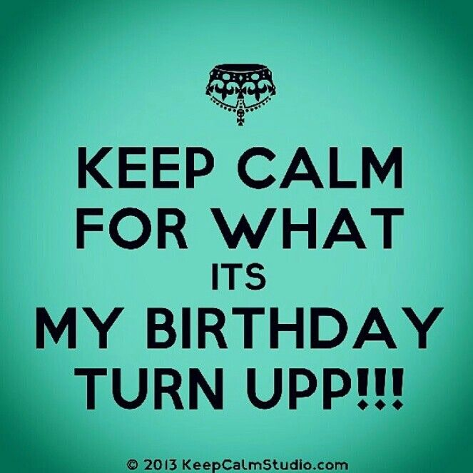 Its My Birthday !!!! Thank U God For Another Year