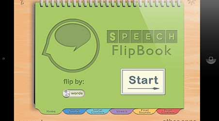Review & Giveaway of Speech FlipBook by Tactus Therapy Solutions Ltd ‹ AppAbled.com