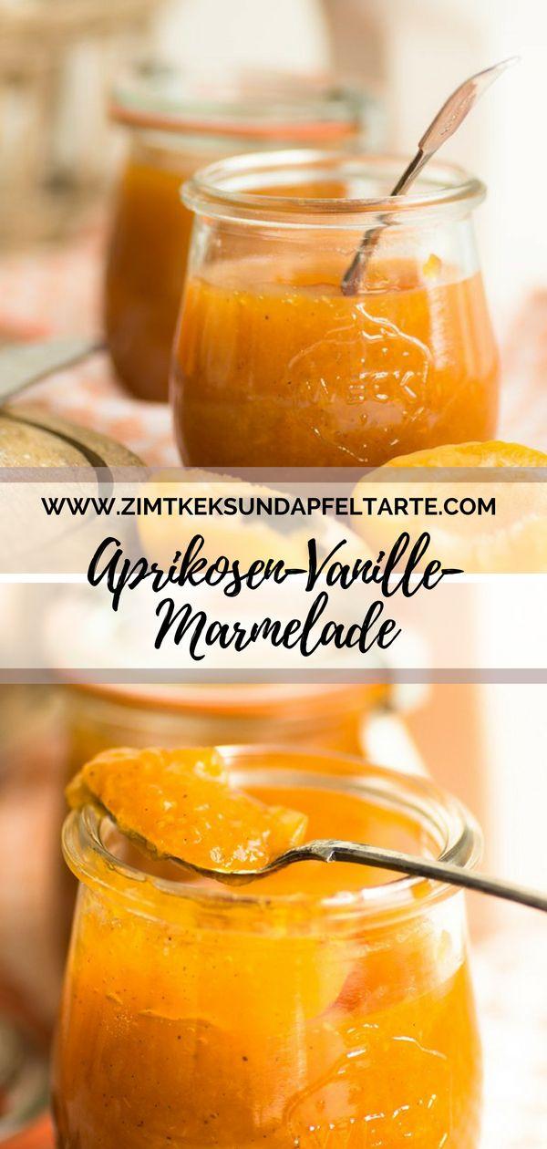 Aprikosen-Vanille-Marmelade und blitzschnelle Frühstücksbrötchen