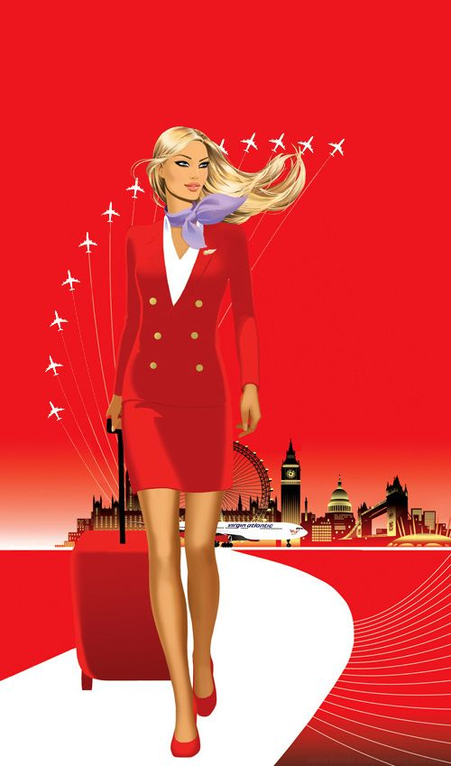 We love red! <3 #crewlife #crewstyle #cabincrew #aviation #flightattendant