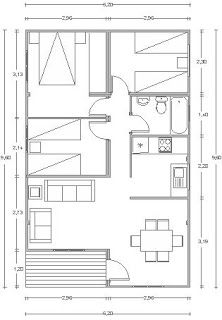 92 best images about casas 70 on pinterest house plans for Planos de casas de madera gratis