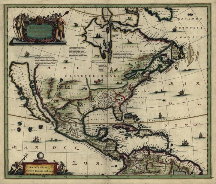 Best Vintage Maps Images On Pinterest Vintage Maps Antique - North america historical map 1845