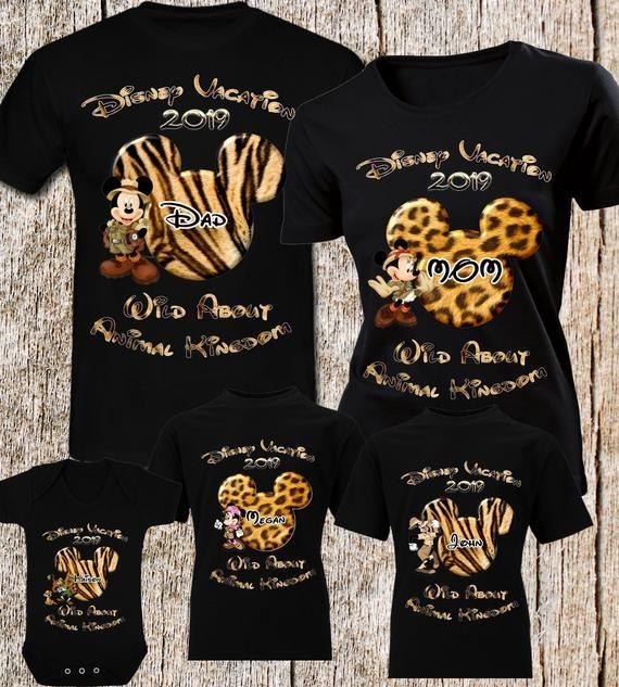 Animal Kingdom Disney Shirts Disney Family Shirt Personalized Disney Shirts Fast Shipping