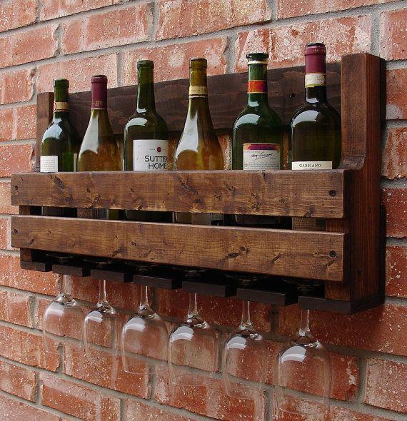 best 25  wall mounted wine racks ideas on pinterest
