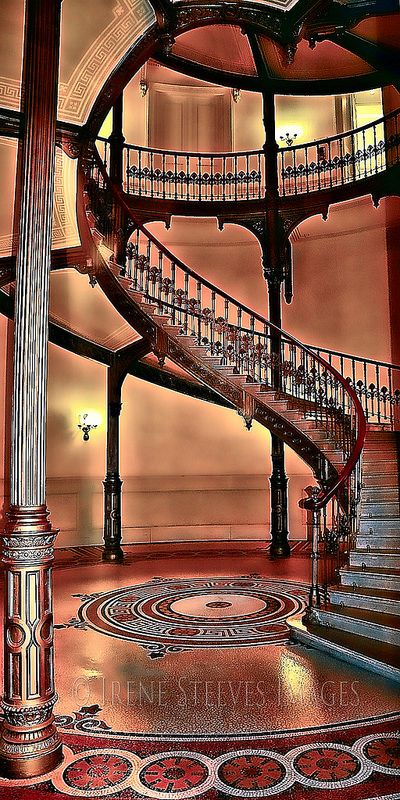 Károlyi Palace Stairs, Budapest - Hungary