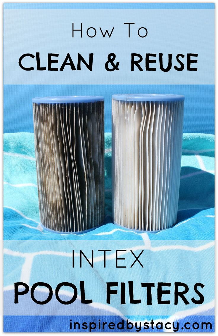 How To Clean and Reuse Intex Pool Filters