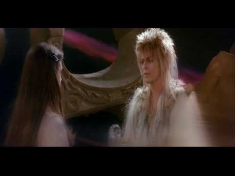 "Labyrinth - Jennifer connelly David Bowie End Scene ....so I consider Labyrinth worth multiple pins...lesson: nothing could ever be worth your freedom, no one can make you do anything without your consent...""you have no power of me"""