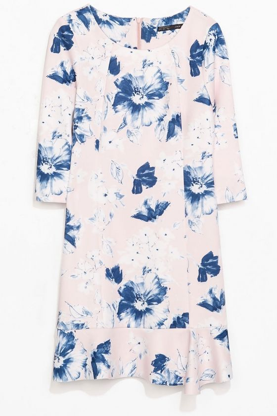 Zara Floral Dress | Look