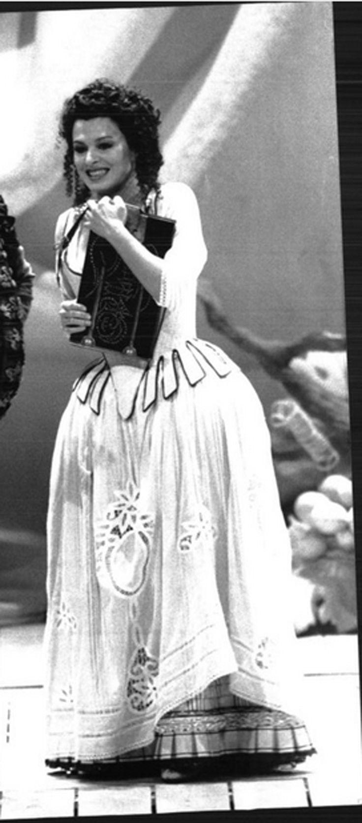 regia Carlo Verdone Roma Teatro dell' Opera 1992 terme di Caracalla