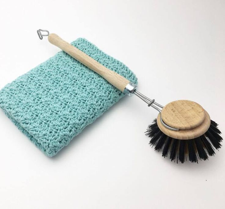 Hæklet karklud i Silt Stitch mønster. Gratis hækle opskrifter på hæklet karklude, Step by step guides i mange forskellige hæklemønstre