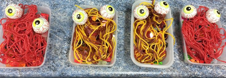 Halloween Breakfast as created by Danny, in our Bespook Department. Can you guess what the eyes are made from? http://www.makermends.com/bespoke.html  #Halloween #breakfast
