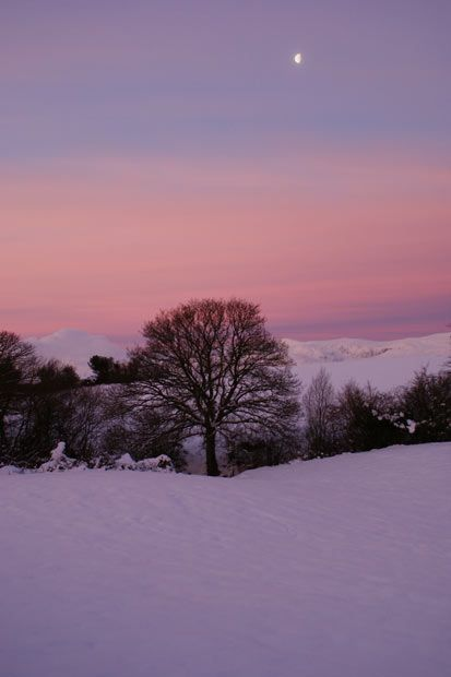 North Wales at sunrise.  Picture: DEBBIE QUINN
