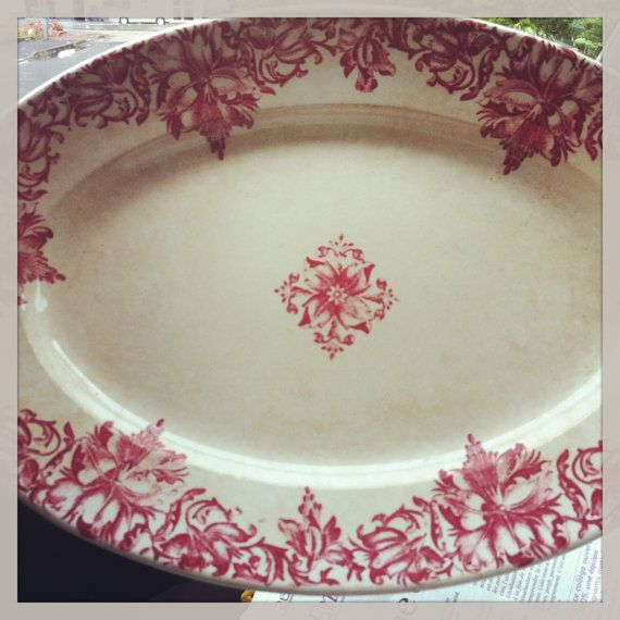 ANTIQUE  French dish  fine 19th century of the artist par Shmscode, €150.00