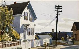 Adam's House - Edward Hopper
