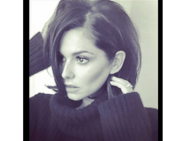 Cheryl Fernandez-Versini admitted her new short hair is taking some getting used to on Instagram earlier today