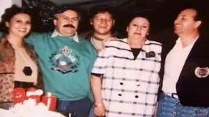 Pablo Escobar family photos