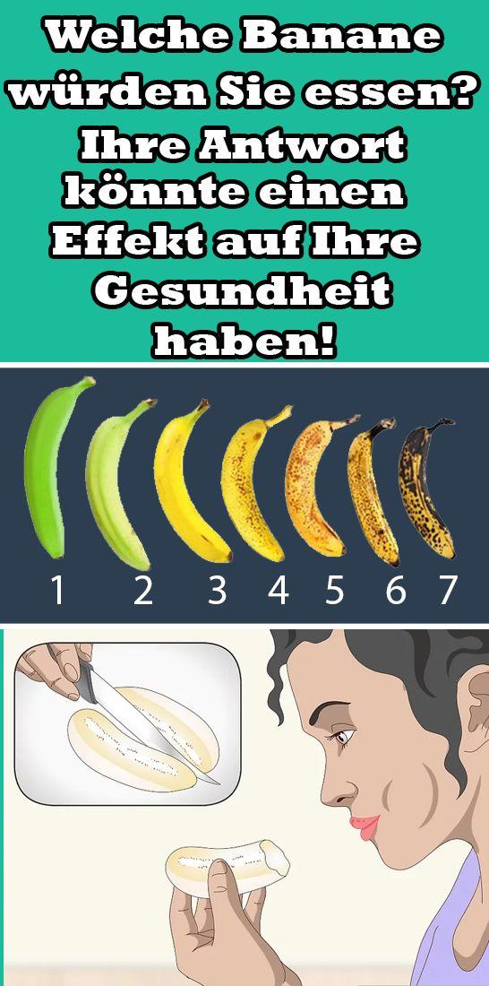 Welche Banane würden Sie essen? Ihre Antwort könnte einen Effekt auf Ihre Gesundheit haben