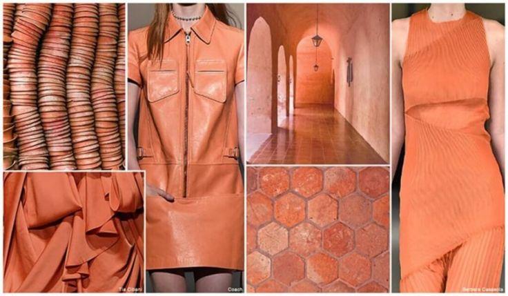 Пустынно-оранжевый Многие модные цвета 2016 года относятся к природной цветовой гамме. Один из них – пустынно-оранжевый. Этот нежный оттенок является одним из главных фаворитов среди популярных цветов 2016. Специалисты утверждают, что этот оттенок положительно воспринимается абсолютно всеми людьми, поднимает настроение, а главное согревает холодной порой.