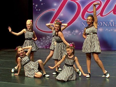 Dance Moms: Group Dance: Dance Bop (S5, E25) I LOVE THIS GROUP DANCE SO MUCH! THE COSTUMES ARE ADORABLE AND I COULD NOT TAKE MY EYES OFF OF KENZIE!