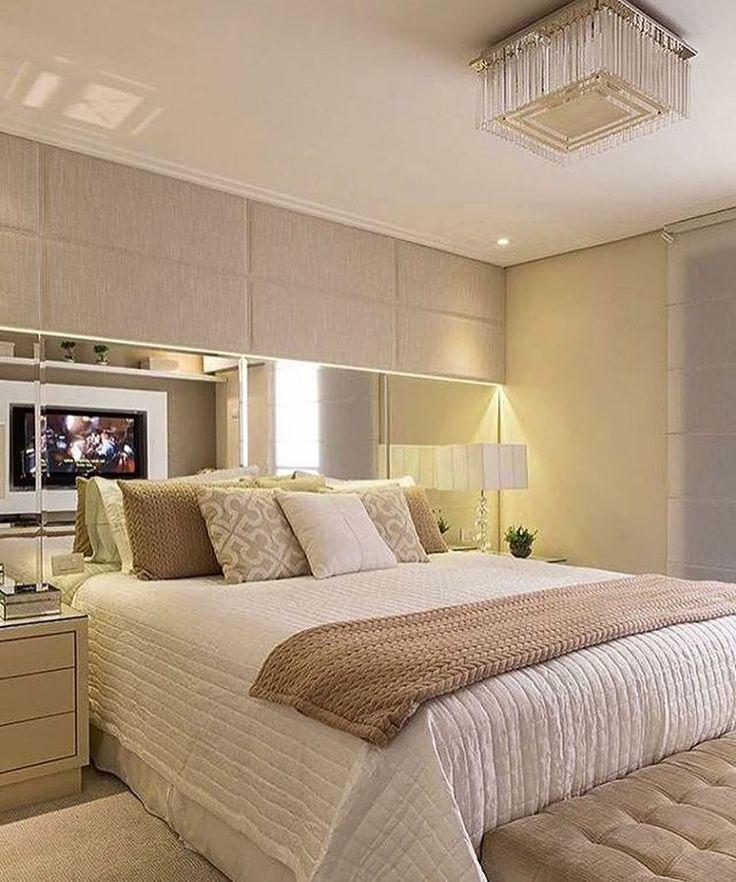 """Quarto do casal!!<span class=""""emoji emoji2728""""></span> #interiordesign #ambientes #quartodocasal #quarto #suite #iluminação #luminária ..."""