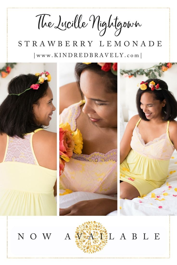 e71109c195e9c A GORGEOUS new color has landed at Kindred Bravely! The best-selling Lucille   maternity and  nursing gown is now a…