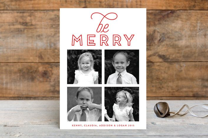 Bright Be Merry by Phrosne Ras at minted.com